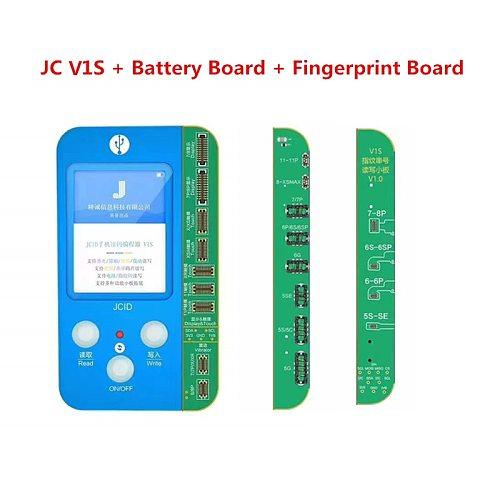 JC V1S for 7 7P 8 8P X XR XS XS MAX 11 Pro MAX Photosensitive Original Color Touch Shock Fingerprint Battery Programmer