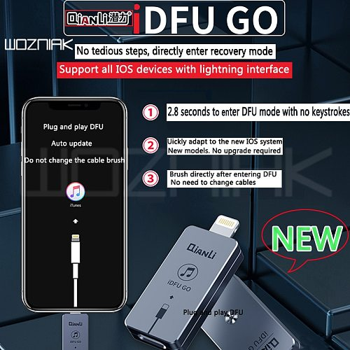 Qianli iDFU GO Quick Startup Artifact Go directly to Recovery Mode without tedious 2.8 seconds