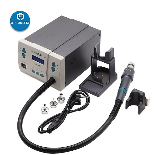 PHONEFIX 861DW BGA Rework Solder Station Intelligent Lead Free Hot Air Welding Tool for PCB Motherboard Soldering Repair
