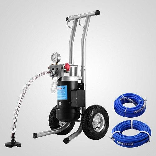 1800W 3.8L/min High Pressure Paint Sprayer Spray Gun Machine Airless Wall DIY
