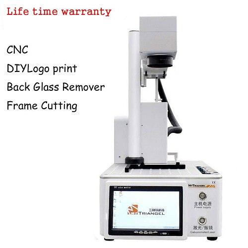 M-Triangel Laser Separating machine Fiber Laser LCD Repair Machine For iPhone 11 X XS Max 8 8+ Back Glass Remover Frame Cutting