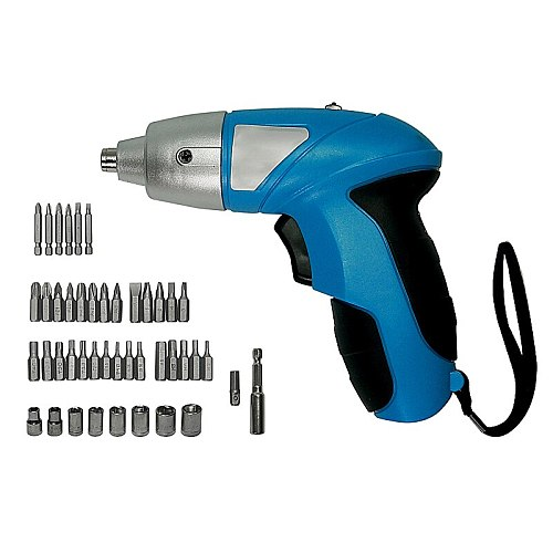 3.6V Rechargeable Electric Screwdriver With 46pcs Bits LED Light for Household maintenance