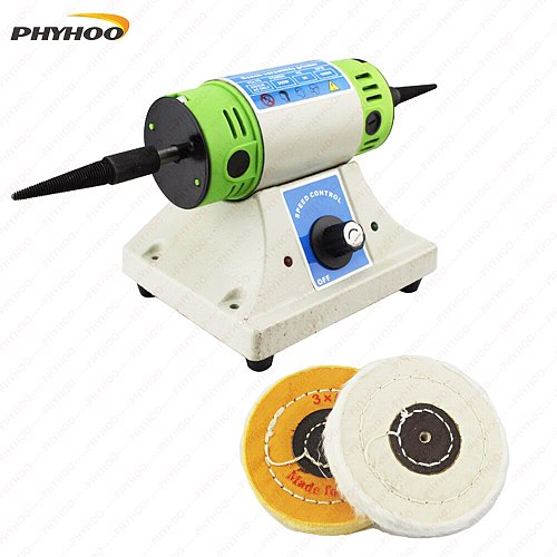 220V Hot Sale European Style Polishing Motor With 10000 RPM Speed Grinding  In Special Jewelry Polishing Tools Machine