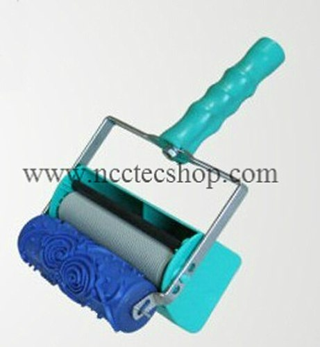 5'' soft rubber NCCTEC decoration roller for 5'' 125mm decoration machine | 71 sorts FREE shipping