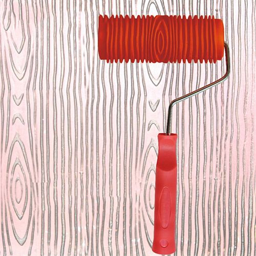 Embossed Paint Roller Sleeve Wall Texture Stencil Brush Pattern Art Rollers House Decoration Household Tools Drop Shipp