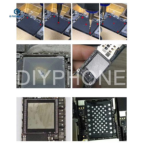 JY01 CNC Router phone BGA Chip Grinding Machine for iPhone 6 6S 7 8 X CPU Baseband NAND WIFI FONT Audio Grinding Removing Tool