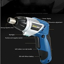 Rechargeable Electric Screwdriver American Standard Drill Lithium Screwdriver Special Multi-function Household Drill Set 4.0V