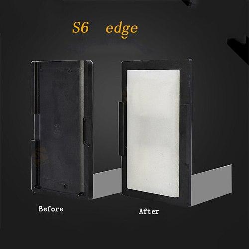High precision alignment Laminating Mould for Samsung S6 Curved  Screen Repair Pressure Screen Film Mat Laminator