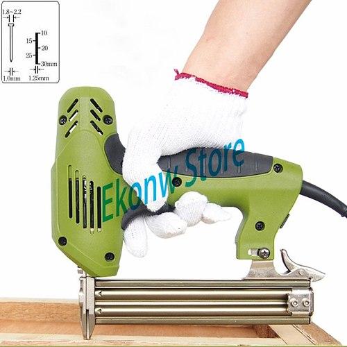 Free shipping 220V F30 Electric Stapler Gun Nail Gun Nailer Tools Framing tacker Electric Power Tools only for straigt nails