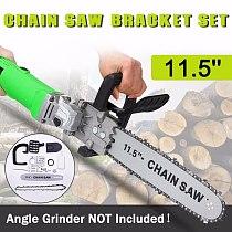 11.5 inch Chain Saw Bracket Set Electric Angle Grinder Motor Chain Saw Bracket Set for Woodworking Garden Power Tool