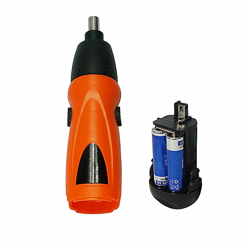Mini Cordless Electric Screwdriver 6V Battery Operated with Drill Tool 11Pcs Bits