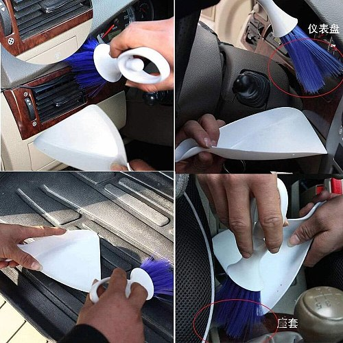 Oil Paint Brush Set or Home Laptop Keyboard Dust tool Dustpan Cleaning Air Outlet Vent Cleaning Tools