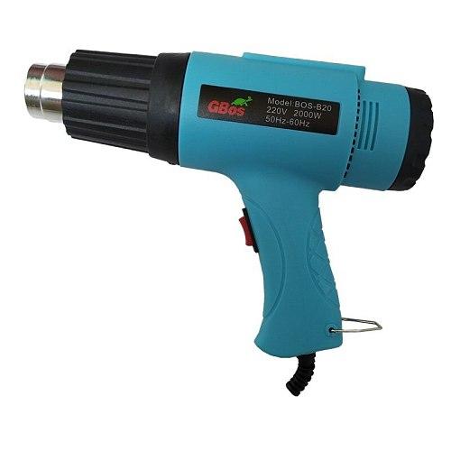 2000W Double Temperature Control Car Sticker Film Baking Heating Guns High Power Electric Tool Baking Gun Hot Air Gun