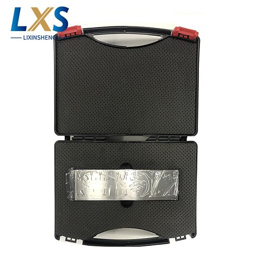 0-50um PUSHEN Single Groove stainless steel Scraper fineness meter For coating