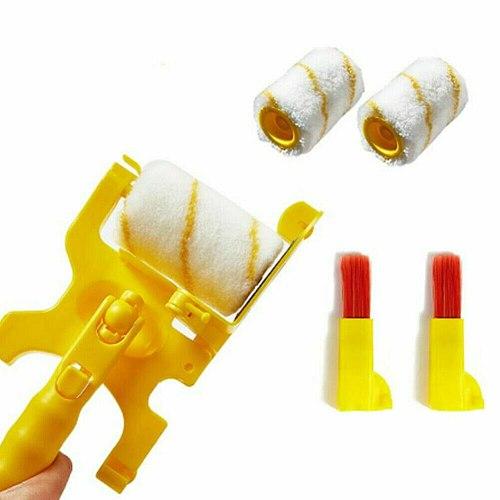 Wall Edge Clean-cut Brush Roller Paint Brush Set Multifunctional Clean-Cut Paint Edger JS23