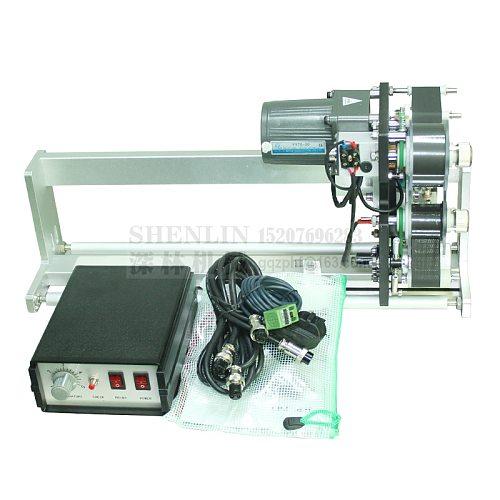 Mountable thermal ribbon printing machine HP241G automatic expiration code printer label print machine electrical printer