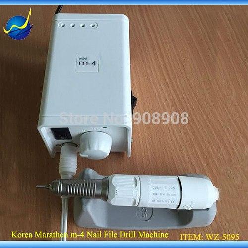Fashion Engraving Manicure & Pedicure Nail File Mini M-4 Micromotor 30K rpm Marathon SAEYANG SH20N Screw Driver Electric Trimmer