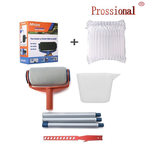 Multi-functional Household Use Wall Decorative Paint Roller Brush Long Handle Tool DIY Easy to Operate Painting Brush Tools