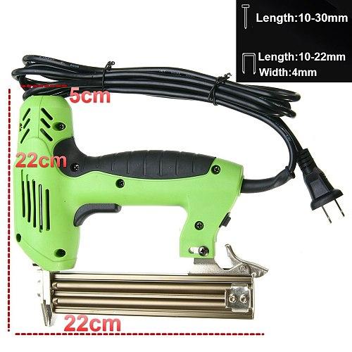 2 In 1 Framing Tacker Electric Nails Staple Gun 220V 1800W Electric Power Tools Electric Stapler Gun With 200pcs Nails