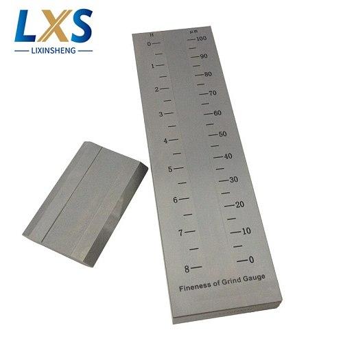 BGD241/3 (0-100um) Single Groove Grind Gauge 5um Scale Value stainless steel Hegman grind gauge