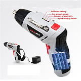 4.8V Electric Screwdriver Parafusadeira a Bateria With Chargeable Battery Cordless Drill DIY Power tools with 43 Bits