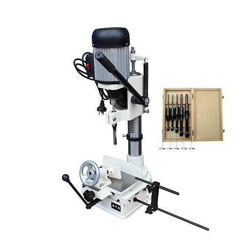 woodworking mortising machine 750W cutting drilling hole tenon  6~15MM