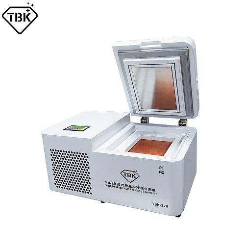 Máquinas desmaquilladoras de vidrio congelado TBK - 578 para Samsung Edge, para iPhone, tableta, pantalla LCD separadora, Mini