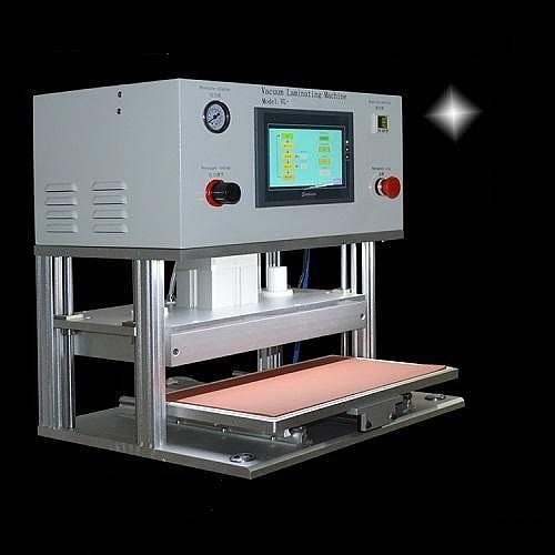 Russia no tax LY 908 touch screen OCA Vacuum laminating machine 7 Inch