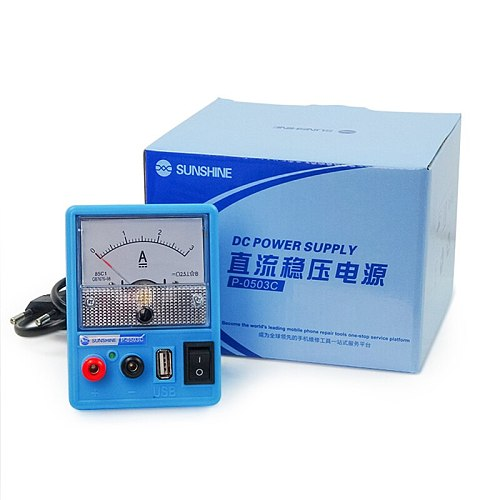 New Portable Voltage Regulator Adjustable Dc Power Supply With Usb Port Phone Repair 5v 3a Dc Regulated Power Supply 110v 220v