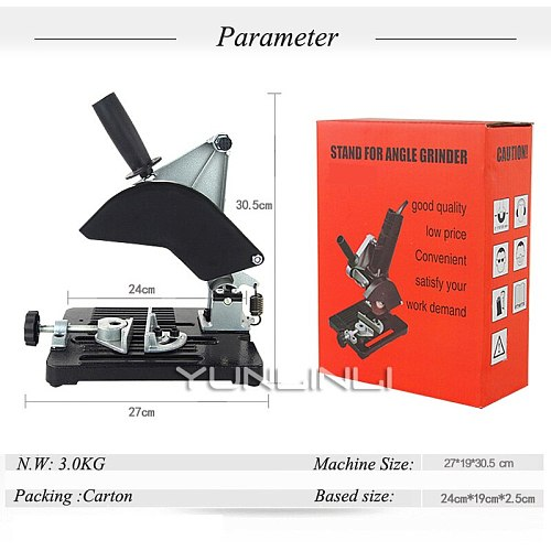 Fixed Angle Grinder Stand Universal Bracket For Polisher Grinding Multi-function Cutting Machine  LYL-02
