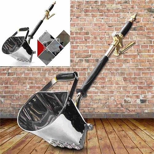 New Wall Mortar Gun Stucco shovel Hopper Ladle Cement Air Stucco sprayer Mortar Sprayer Plaster Hopper Gun Cement Sprayer gun