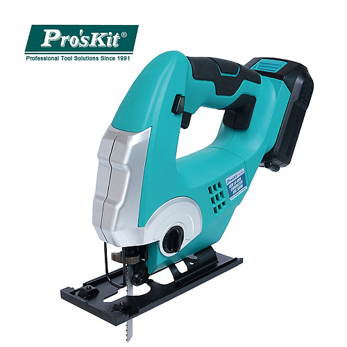 Curve Saw Pro'sKit PT-1805G Handheld18V L ithium Battery Small Woodworking Electric Saw Metal Cutting Saw Wire Household Tools