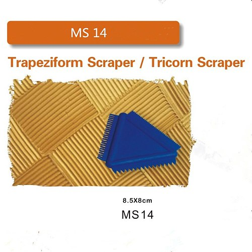 Scraper  Wallpaper roller Construction Tool Roller Brush Handle Wall Decoration Trapeziform Scraper / Tricorn Scraper