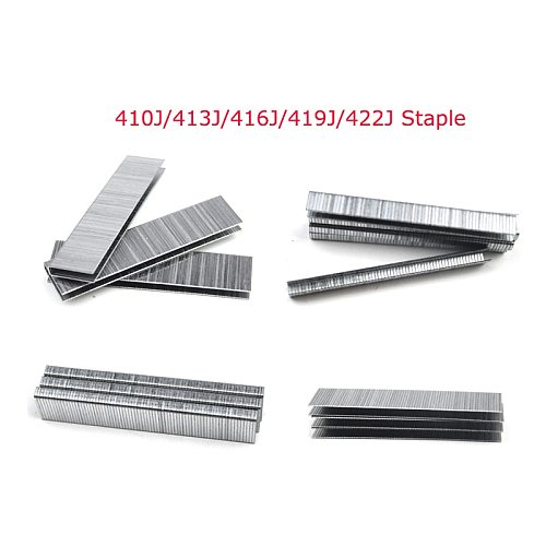 4000Pcs 410J 413J 416J 419J 422J Staple or Framing Tacker Electric Nails Stapler Gun