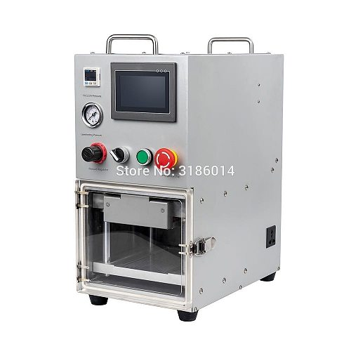 LCD Display Touch Screen OCA YMJ laminating machine for iphone samsung edge lcd Vacuum Automatic laminating no bubble