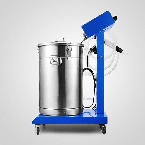 Electrostatic Powder Coating System with Spray Gun WX-958 Machine Spraying Dry Finishing Process Electrostatically Charged