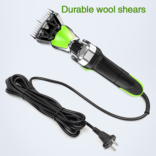 Electric speed control garden farm wool shearing wool EU plug 220V Scissors cutter hand tools wool sheep hair cutting tool