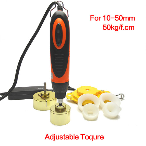 SHENLIN Large torque Capping Machine handheld Wearable bottle capping machine bottle cap screwing up tool capper 5-50mm 110/220V