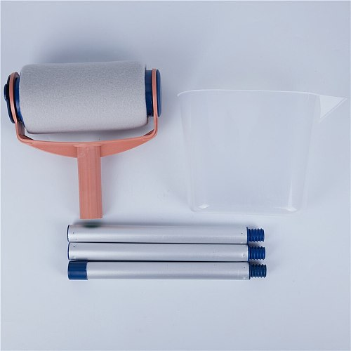 5pcs Decorative Paint Roller Set Painting Brush Household Wall Paint Tool Sets For Household Office