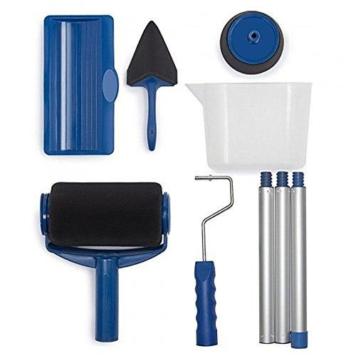 9pcs Wall Decorate Painting Roller Brush Set Paint Runner Pro Brush Kit Multifunctional House Paint Rollers Runner Pro Tools Set