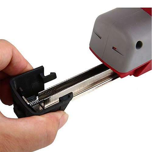 AOTUO 4.2V Eletric Nail Gun Woodworking Power Nailer Stapler Straight Nail& Door Nail Staplers Power Tool with USB charging