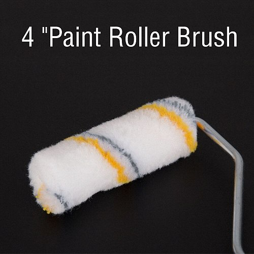 20pcs 4 inch Craft Paint Foam Rollers Decorative Corner Roller Brush Sponge Paint Roller Sleeves Decorating Painting Tool Sets