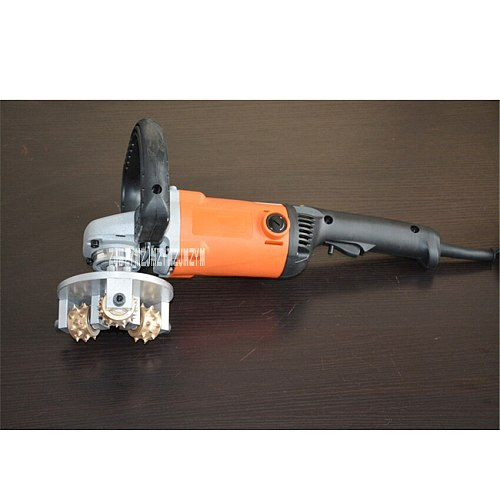 Electric Chiseling Machine Concrete Slag-Removing Home Improvement Wall Chiseling Hammer Three-Head Chisel Hammer 220V 1300W