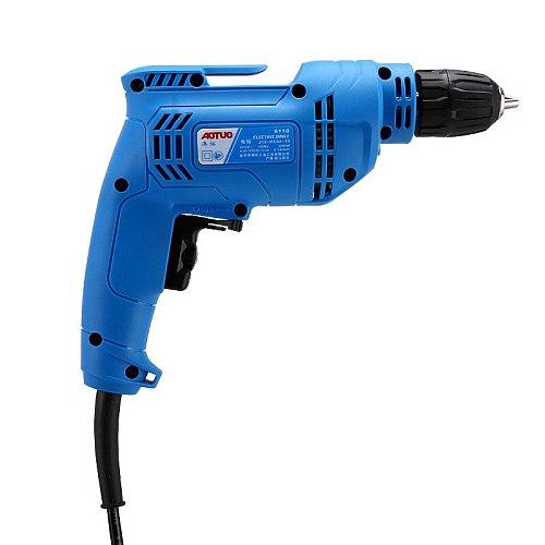Adjustable Speed Electric Drill Multi-function Household High-power Hand Drill Self-locking Drill Bit High Performance