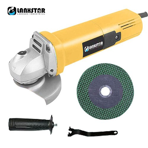Multi-Function Speed Angle Grinder Small Household Hand Grinding Wheel Cutting Grinding Electric Tool Polishing Machine