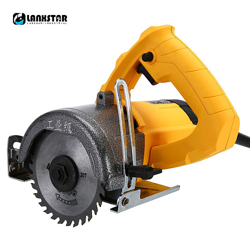 LANXSTAR 220V Industry Grade Woodworking Electric Saw Multifunctional Wood Tile Sawing Machine Stone Cutter Tool