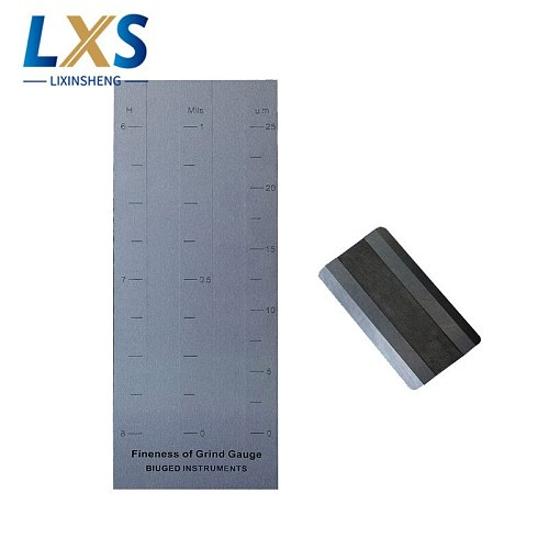 High quality 0.625um Double Groove stainless steel Hegman Gauge BGD242/0 (0-15um) For ink
