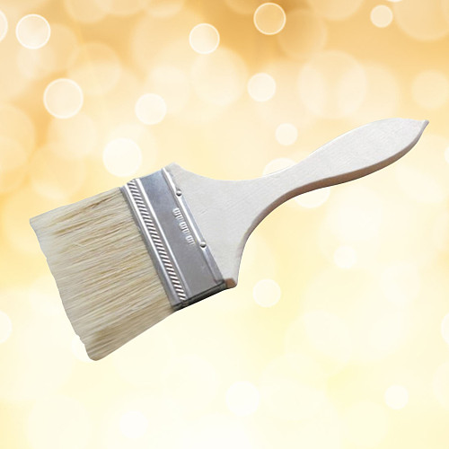 Thickened Durable Professional High Quality Wooden Handle Bristle Brush for Barbecue Painting Home Use