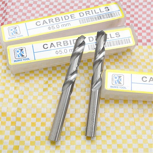 Carbide Twist Drill Bits for CNC Metal Drilling Tungsten Carbide End Mill