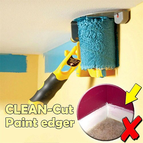 Clean-Cut Paint Edger Roller Brush Safe Tool Portable for Home Wall Ceilings New 2020